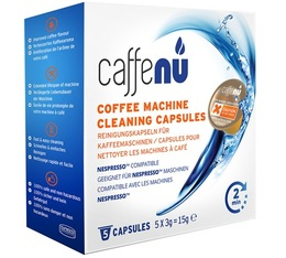 Caffenu Capsules de nettoyage pour machine Nespresso