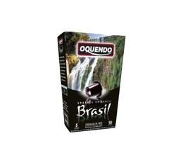 Capsules Origine Brésil Oquendo x10 pour Nespresso