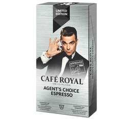 Capsules Café Royal Agent's choice x 10 pour Nespresso
