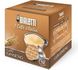 Capsules Mokespresso Bialetti Caffè Ginseng  x 12