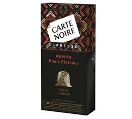 Capsules Carte Noire Espresso Kenya x10 pour Nespresso