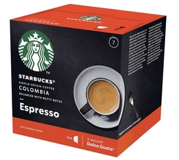 STARBUCKS Colombia Espresso coffee pods for Dolce Gusto x 12