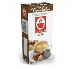 Caffè Bonini Hazelnut-flavoured coffee capsules for Nespresso® x 10