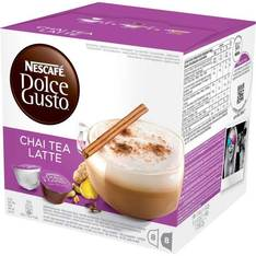16 capsules nescaf dolce gusto cha tea latte. Black Bedroom Furniture Sets. Home Design Ideas