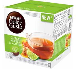 16 capsules nescaf dolce gusto citrus honey black tea. Black Bedroom Furniture Sets. Home Design Ideas