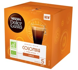 12 capsules pure origine colombie nescaf dolce gusto. Black Bedroom Furniture Sets. Home Design Ideas