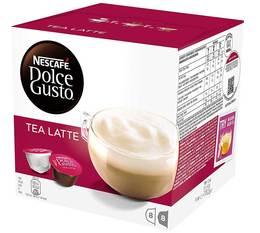 16 capsules nescaf dolce gusto tea latte. Black Bedroom Furniture Sets. Home Design Ideas