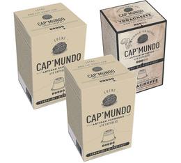 2 boîtes de capsules Ebène x10 + 1 boîte de Yrgacheffe x10 offerte - Capmundo