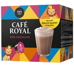 Capsules Nescafe® Dolce Gusto® compatibles Café Royal Kids chocolate x 16