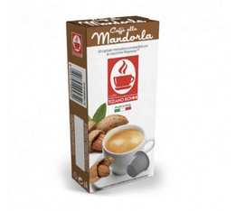 Capsules compatibles Nespresso® aromatisées Amande x 10