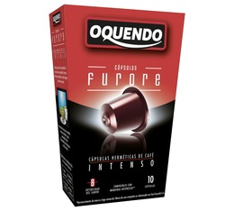 Capsules compatibles Nespresso 'Furore' x10 - Oquendo
