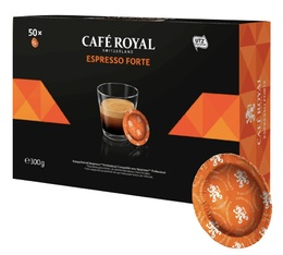 Café Royal Espresso Forte Office Pads x 50 for Nespresso® Professional