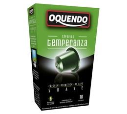 Capsules compatibles Nespresso 'Temperanza' x10 - Oquendo