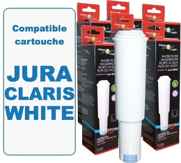 Lot de 6 Cartouches filtrantes Filter Logic FL-801 compatibles Jura Claris White