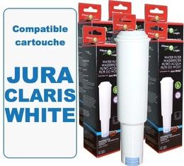 Lot de 6 Cartouches filtrantes Filter Logic FL-801 compatibles Jura Claris White