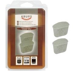Lot de 2 cartouches filtrantes pour Krups ProAroma