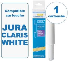 1 Cartouche BestCup T WHITE compatible Jura IMPRESSA Claris WHITE