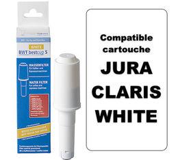 Cartouche filtrante (50L) compatible Jura BestCup s White - Water+More