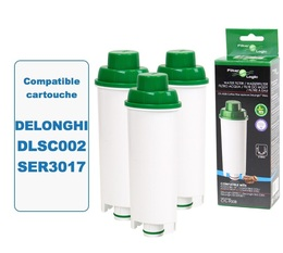 Lot de 3 Cartouches filtrantes Filter Logic FL-950 compatibles Delonghi DLSC002