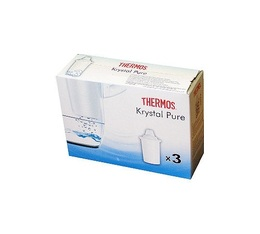 Cartouches filtrantes  universelles Krystal Pure x3
