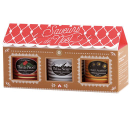 Compagnie Coloniale Christmas Tea Selection - 3 x 30g loose leaf tins