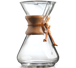 Glass Chemex 10-cup coffee maker