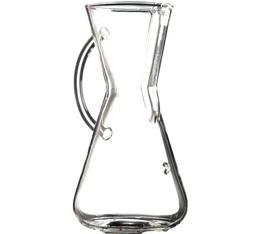 Cafetière Chemex en verre avec poignée 3 tasses