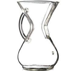 Cafetière Chemex en verre avec poignée 6 tasses