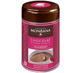 Chocolat en poudre aromatisé Cranberry 250 g Monbana