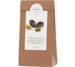 Sachet pistaches enrobées de chocolat noir - 125gr - Café Tasse