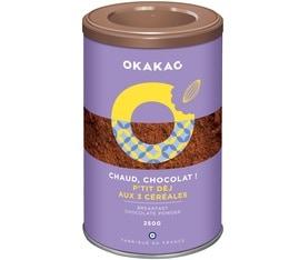 Chocolat en poudre P'tit Dej aux 3 céréales - 250g - Okakao
