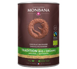 Monbana Organic and Fairtrade cocoa powder - 1 kg