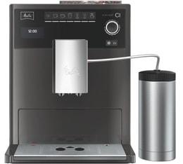 Melitta Caffeo Ci Anthracite E970-205 + Pot à lait inox SST MaxiPack Garantie 3 ans