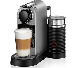 Machine Nespresso Citiz Milk Silver - Krups + Offre Cadeau