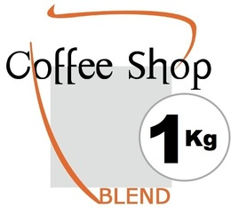 Café en grains Coffee Shop Blend - 1 Kg