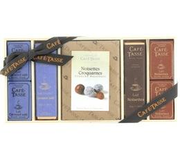 Coffret chocolat en bois