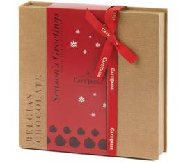 Coffret Kraft Noël Mini-Truffes Caramel/Cacao - Café-Tasse