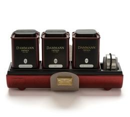 Coffret Amarante - 3 x 30 g de thé en vrac - Dammann Frères