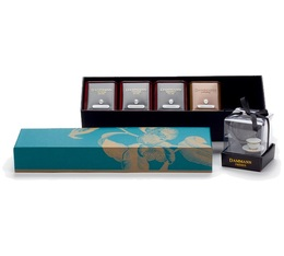 Voyages Collection Box: Allures - 4 flavoured teas and Infuser - Dammann Frères