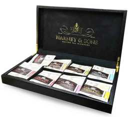 Coffret thé cuir Luxe 8 emplacements - Harney & Sons