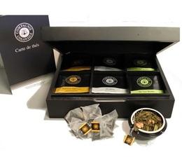 Pack dégustation Coffret bois + 6 x 48 berlingos - Compagnie Coloniale