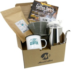 Coffret Cadeau Café Dripper Conique - Slow Coffee