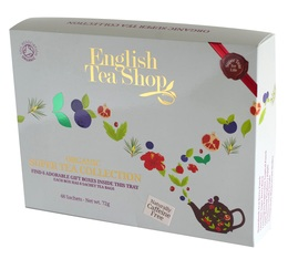 Coffret thés et infusions bio - Super Fruits - 48 sachets de 6 parfums - English Tea Shop