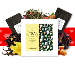 Coffret Tea Time Love : spécial Saint Valentin- 6 x 50 g de thé en vrac