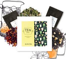 Coffret Tea Time : Thés glacés - 6 x 50 g de thé en vrac