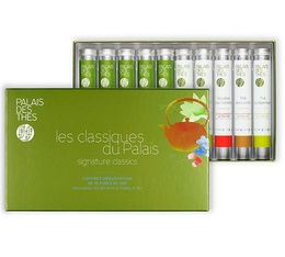 Tea gift box - The Classic Selection from Palais - 10 tubes of loose leaf tea - Palais des Thés