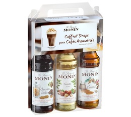 Coffret sirops Monin 3x25cl