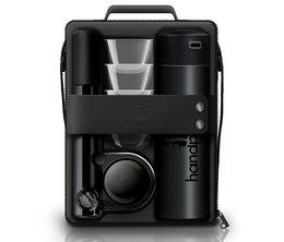 Coffret complet Handpresso wild hybrid Noir- Dosettes ESE et café moulu