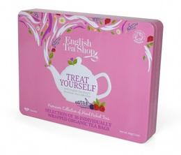 Coffret Super-Fruits de thés et infusions 36 sachets plats - 6 parfums - English tea shop