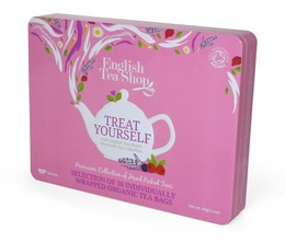 Coffret Super-Fruits de thés et infusions 36 sachets plats - 6 parfums - English tea shop